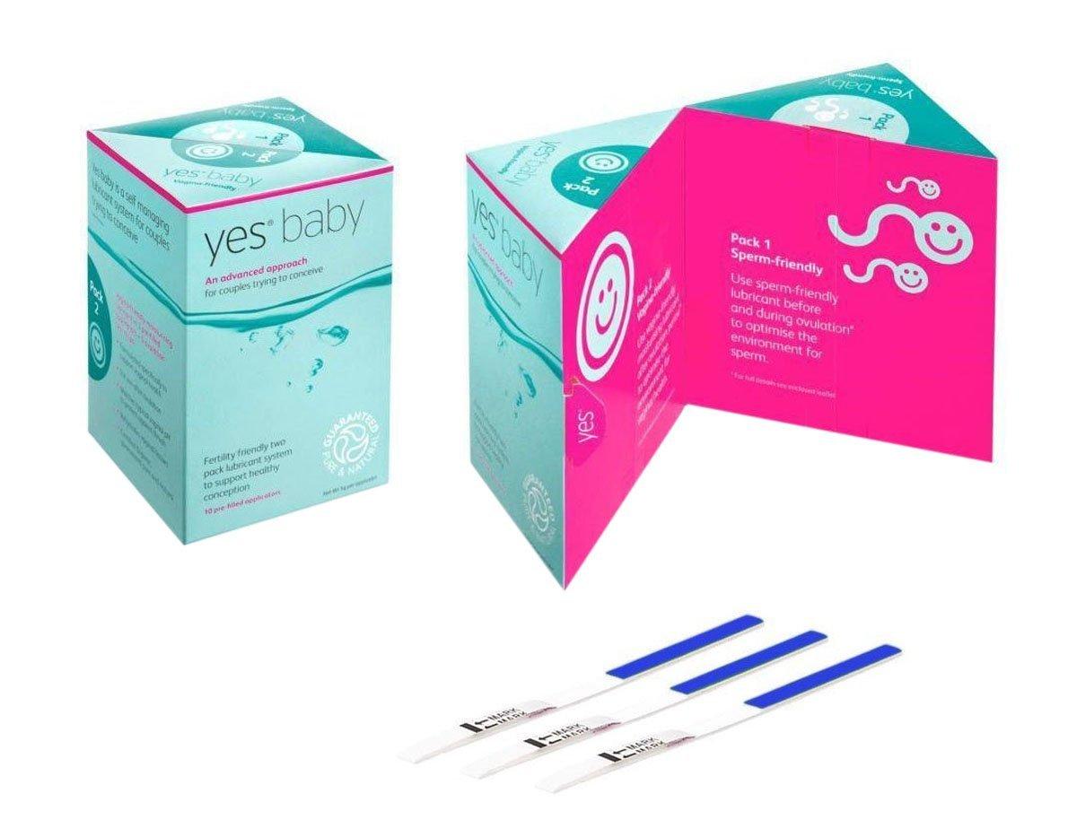Yes Baby Fertilitätsgleitmittel Anwendung, Test, Erfahrungen